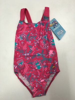 SPEEDO 泳裝 幼童泳衣 幼童女 休閒連身泳裝 尺寸 3~5  /80cm~115cm