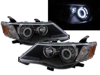 0331卡嗶車燈 Mitsubishi 三菱 Outlander 2007-2009 五門車 CCFL魚眼 大燈 黑