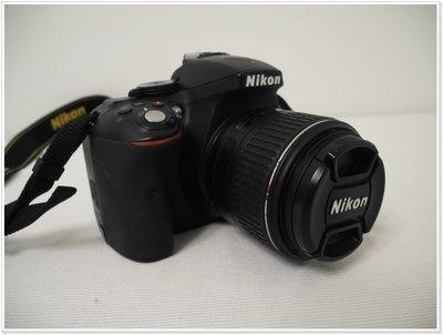 直購價 Nikon D5300 數位單眼相機+18-55mm VR 盒裝 公司貨 9成新 快門數13110|85003