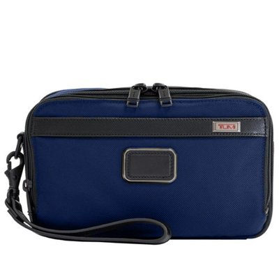 正品新款原廠 TUMI/途米 JK511 男女款 ALPHA3商務休閒手拿包 時尚手抓包 便攜手提化妝包洗漱包 彈道尼龍
