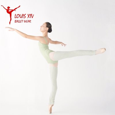 運動服飾LOUIS XIV 芭蕾舞蹈瑜伽護腿襪套 針織保暖加長款腿套護腿護膝