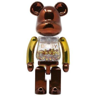 BEETLE BE@RBRICK SUPERALLOYED 銅 古銅色 千秋 STEAMPUNK 超合金 200%