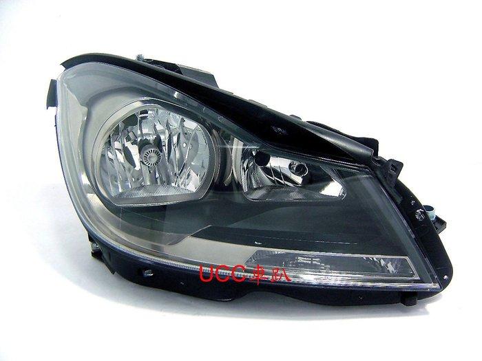【UCC車趴】BENZ 賓士 W204 11  12 13 14 C250 原廠型 黑框大燈 TYC製 一邊3400