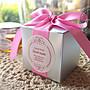 AM好時光【M121】質感銀 緞帶 包裝盒❤喜糖盒 婚禮小物 謝禮回禮 宴客佈置 桌上送客 果醬蜂蜜 金莎巧克力 來店禮