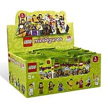 全新未開盒 Lego 8803 Minifigures Series 3 一箱 60包連外箱