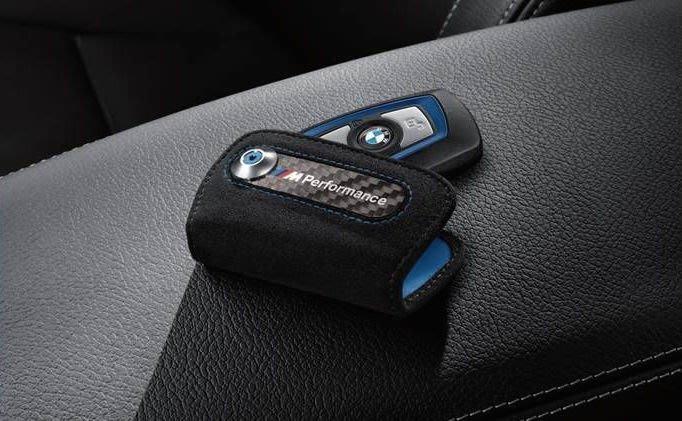 【樂駒】BMW 原廠 M Performance 鑰匙皮套 皮套 保護套 精品 生活 周邊