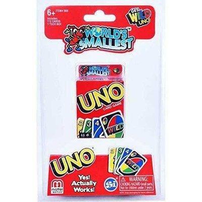 ☆快樂小屋☆ 世界上最小的UNO遊戲卡 UNO world`s smallest 繁體中文版 正版 台中桌游