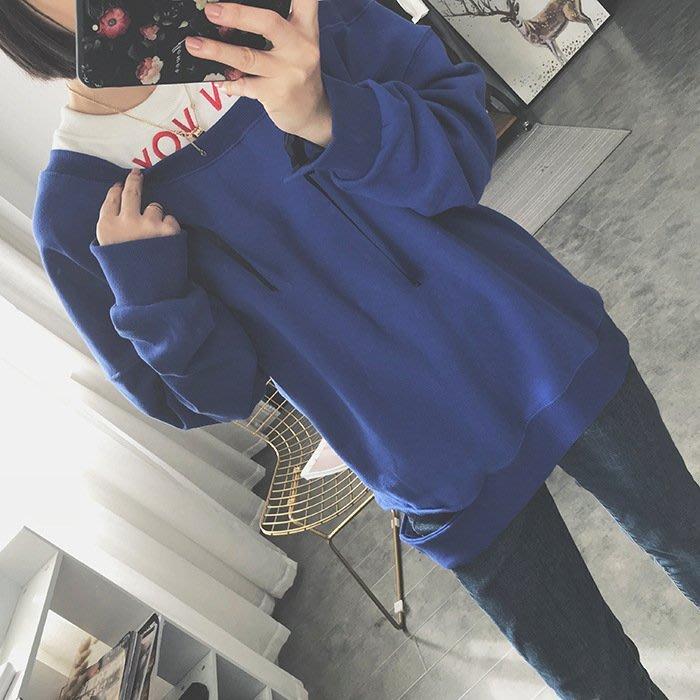 韓國連線 長袖 上衣 假兩件 長袖 拼接 t恤  女生衣著 大學T 衣服 秋裝 女裝 內搭 個性 古著 復古 韓版 韓妞