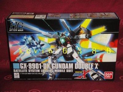 東京都-機動新世紀-1/144 HGAW GX-9901-DX GUNDAM DOUBLE X (NO:163)現貨