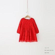 【現貨】 JC BABY 甜美蕾絲蝴蝶結洋裝(共三色) #D1601018