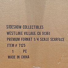 Sideshow Collectibles Premium Format 1/4 Scale SCARFACE