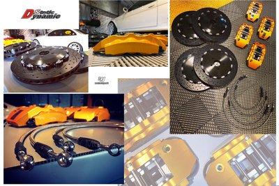 小傑車燈--全新 DS RACING S1卡鉗 煞車 大六活塞 雙片式 全浮動 碟盤 18吋 355盤