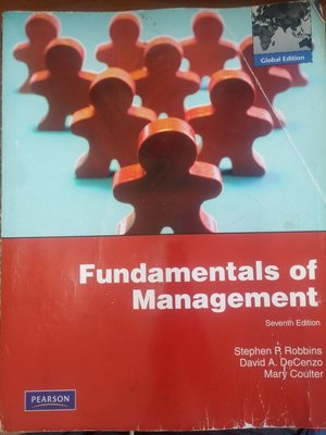 (20)《Fundamentals of Management 7/e》ISBN:0135095182│華泰│七成新