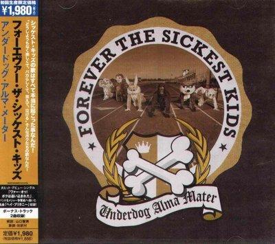 K - Forever The Sickest Kids - Underdog Alma 日版 CD+2 NEW