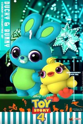 Toys Story Hot Toys Ducky and Bunny 兔仔 鴨仔 Cosbaby set Disney Pixar 復仇者聯盟 激罕