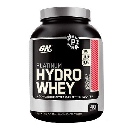 宙斯健身網-ON HYDRO Whey 白金級分離乳清蛋白3.5磅 (草莓)