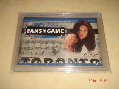 美國職棒 Tia Carrere 2005 Donruss Playoff Prestige  球員卡