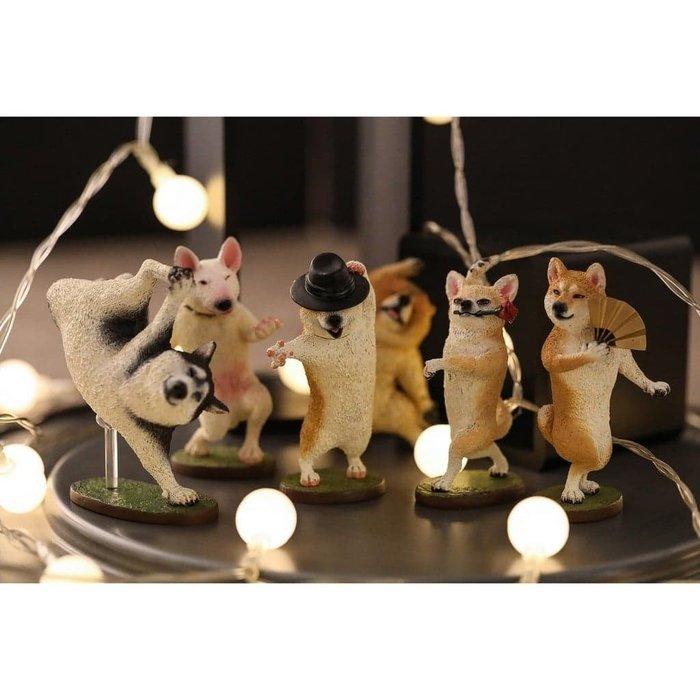 【UNIPRO】朝隈俊男 Animal Life 狗舞蹈大師 Dancing Dog 公仔 盒玩 食玩 大全套 療癒小物