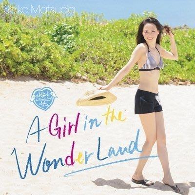 松田聖子-A Girl in the Wonder Land 日盤初回限定盤 A , CD+DVD ,全新未拆封