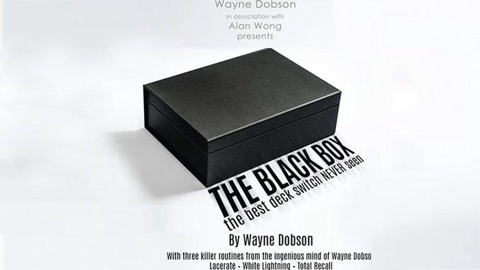 【天天魔法】【S1327】正宗原廠~黑盒子(交換盒)~The Black Box by Wayne Dobson