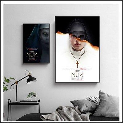 日本製畫布 電影海報 鬼修女 The Nun 掛畫 嵌框畫 @Movie PoP 賣場多款海報~