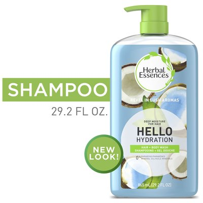 Herbal Essences | 草本精華Hello Hydration 保濕洗髮沐浴雙效 椰子 865ml