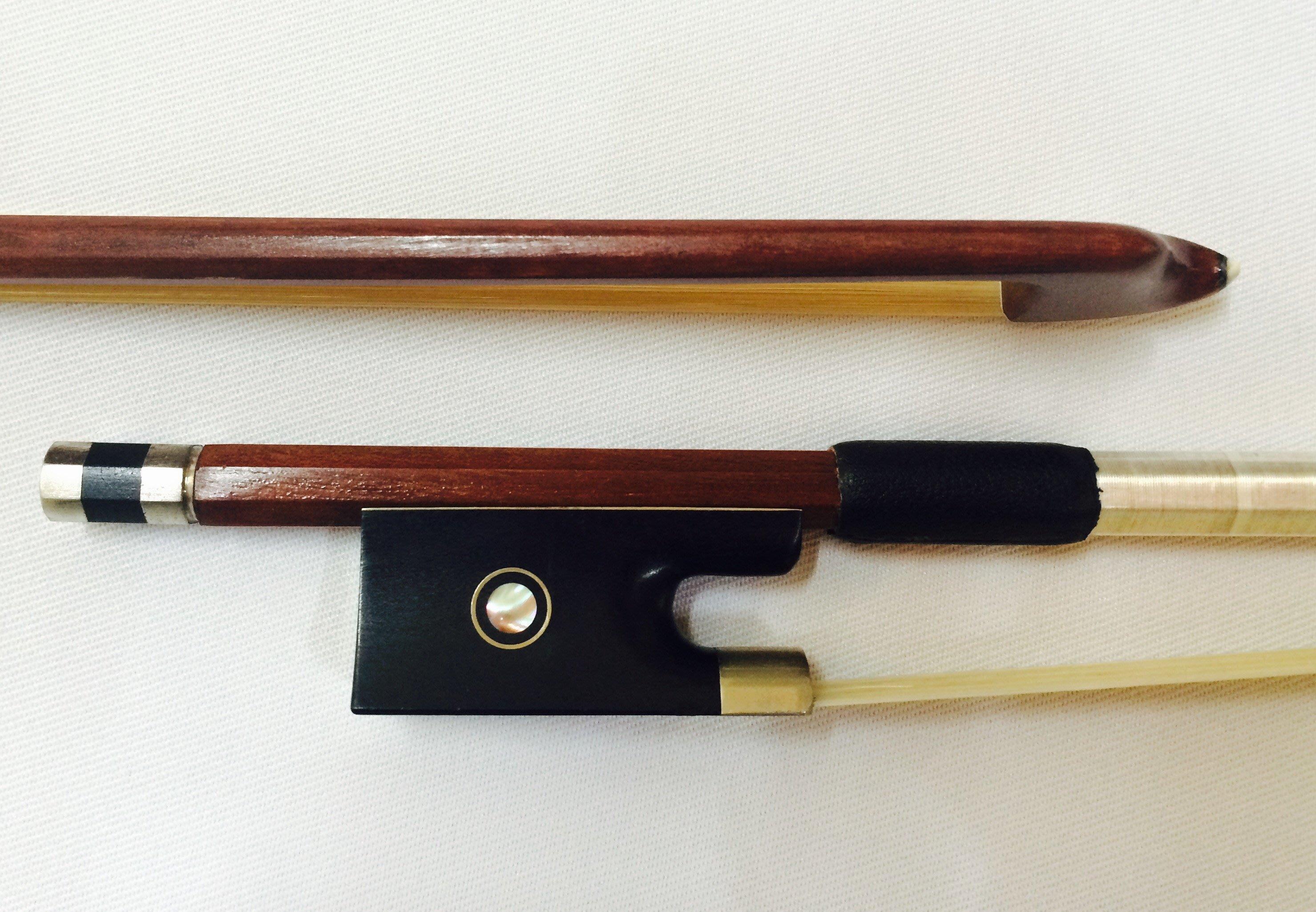 【三益琴行】小提琴弓-巴西木八角弓-NO.5