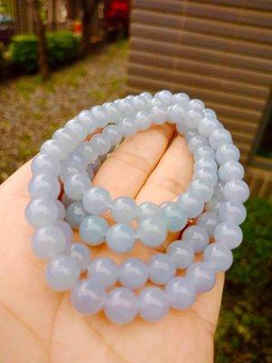 ✧翠玉軒✧紫蘿蘭珠鏈 108顆