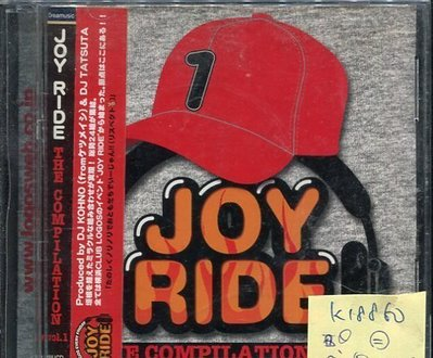 *真音樂* JOY RIDE / THE COMPILATION 日版 二手 K18860 (封面底破)
