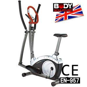 【推薦+】BODY SCULPTURE 數位交叉訓練機(安規認證)兩用健身車.手足健身車C016-6515