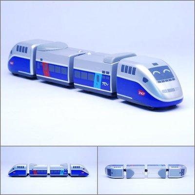 【喵喵模型坊】TOUCH RAIL 鐵支路 Q版 法國高鐵TGV小列車 ( QV040T1)