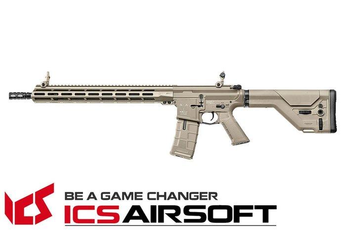 【翔準軍品AOG】ICS CXP-MMR DMR(沙) UKSR托 EBB M-Lok 全金屬 電動 生存遊戲 IMT-