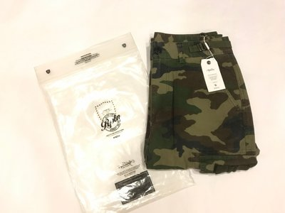 (全新) REPUTATION Camouflage Work pants / C-PT.FW - 雙口袋迷彩工作褲 S號