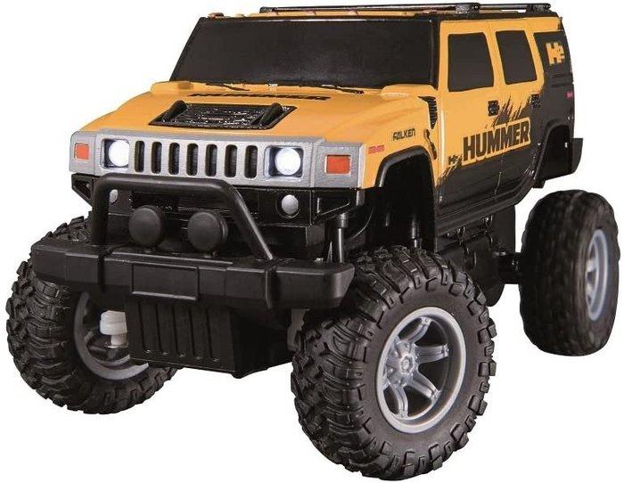 日本代購  JOZEN Hummer H2  1/24  悍馬車 電動遙控車 越野遙控車預購
