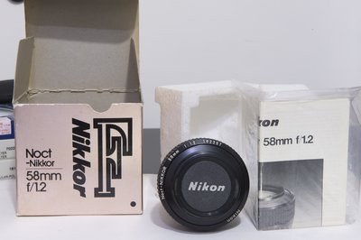 NIKON Noct-Nikkor 58mm F1.2  夜之后 D5 D4 D6 D850 D810 D780
