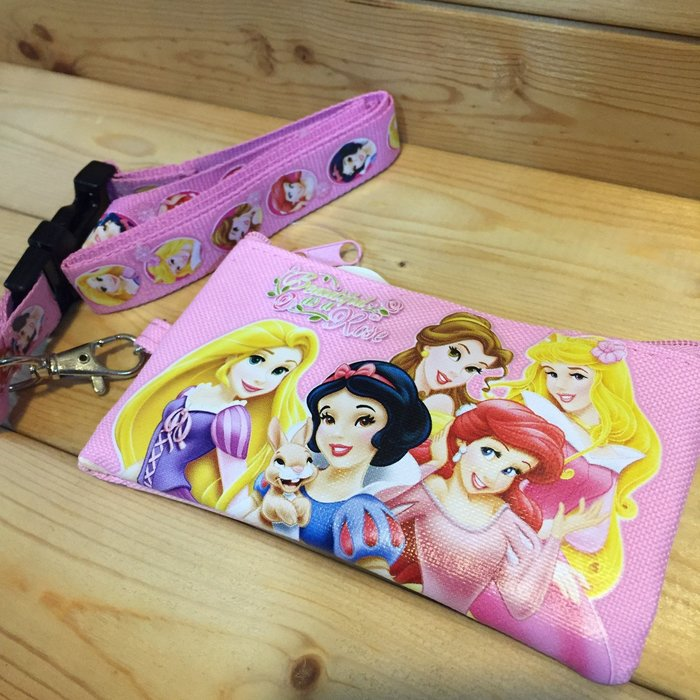 (I LOVE樂多)Disney 迪士尼 小美人魚 白雪公主 貝兒  奧蘿拉  睡美人 長髮公主 魔髮奇緣 零錢包