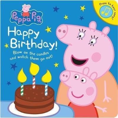 小貝比的家*HAPPY BIRTHDAY PEPPA PIG /硬頁聲音書/3~6歲
