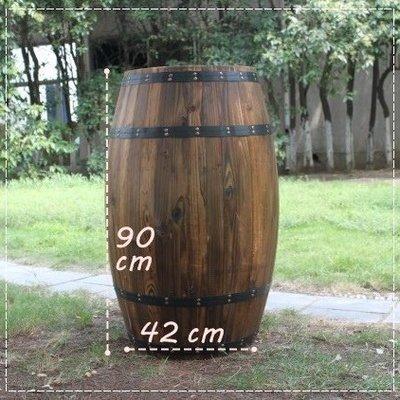 ✖咖啡微甜✖電影道具 店面擺設 橡木桶 仿古酒桶 木酒桶 【90CM】