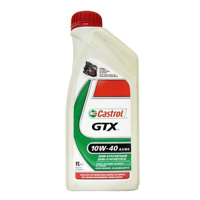 【易油網】Castrol GTX 10W40 合成機油