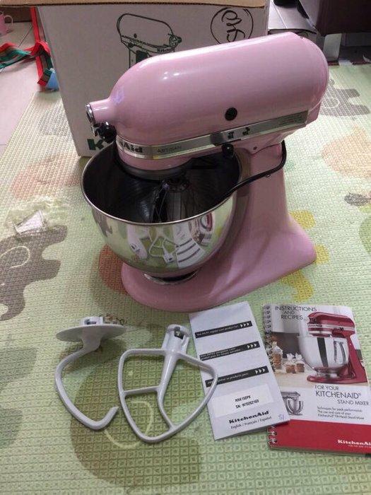 Kitchenaid 5Qt 攪拌機 粉紅色