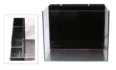 E-SH-60-4 微笑的魚水族☆中國製【超白玻璃背濾缸 60*45*45cm / 8mm】出清價