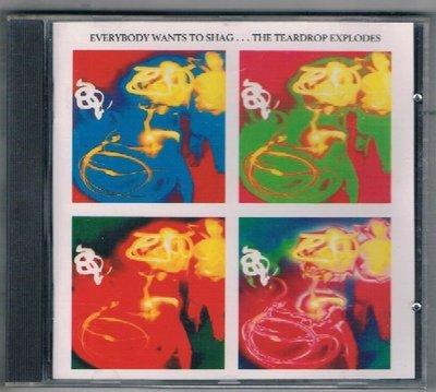 [鑫隆音樂]西洋CD-Everybody Wants To Shag....The Teardrop Expodes {8424392} /全新