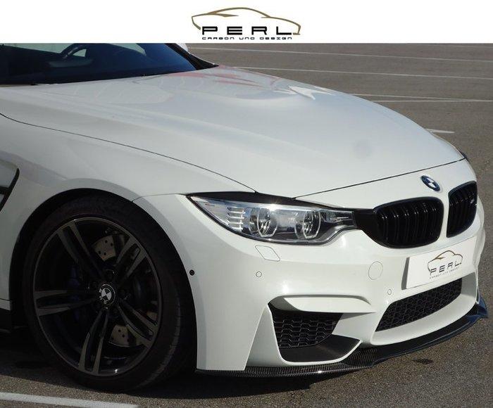 【樂駒】Perl Carbon Design BMW M3 F80 M4 F82 F83 碳纖維 輕量化 前下擾流