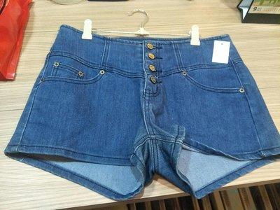 someway 高腰牛仔短褲 尺寸32