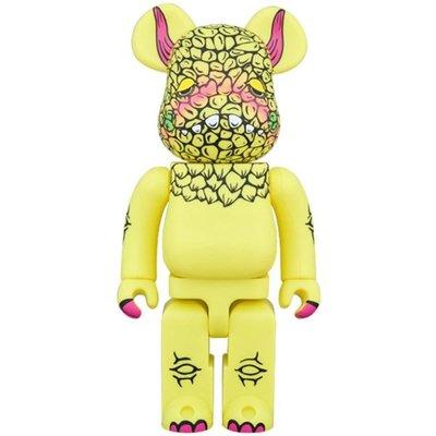 全新 Bearbrick 400% Pogola Monster Kaiju Debut DAN