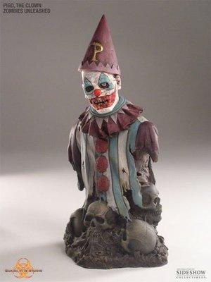 金錢貓雜貨 全新 Quarantine Studio Zombie 6吋 Pigo the Clown 殭屍小丑