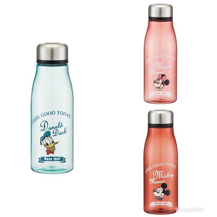 【預購】日本進口安心安全 迪士尼 運動水壺 隨行杯 辦公室水杯 防漏水(米奇丶米妮丶唐老鴨
