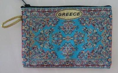 希臘小包,希臘民俗風,旅遊帶回最後一件