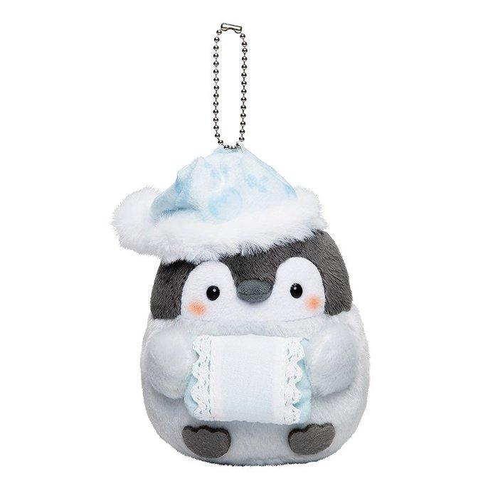 【秘密閣樓】日本正能量企鵝 毛絨玩偶 娃娃 擺飾 睡覺造型(小) 日本代購