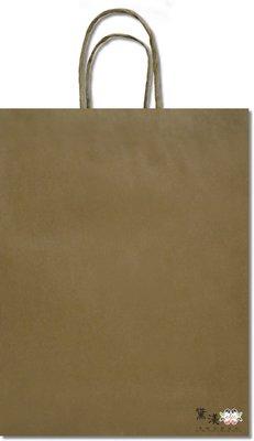 請以25為倍數下單『2K-赤牛(大型, 長版)牛皮色牛皮紙袋』32+11*42cm手提紙袋【黛渼塑膠】專業包裝材料 新北市